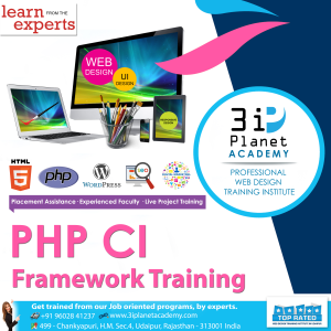 PHP CI Framework Training Institute in Udaipur