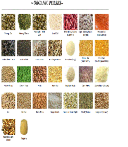Organic pulses and spices