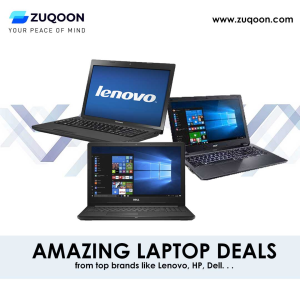 Amazing Laptop Deals at Zuqoon