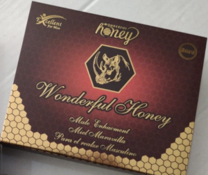 WONDERFUL HONEY MALE ENHANCEMENT-15g Sachets X 12 Count