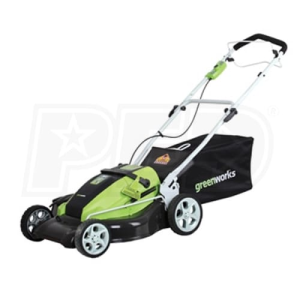 "Greenworks (19"") 36-Volt Rechargeable Cordless 3-in-1 Self Propelled Lawn Mower"