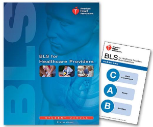 American Heart Association Basic Life Support for Healthcare Providers (BLS)