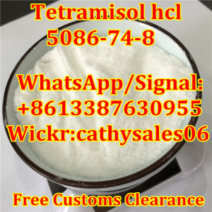 Raw Material Tetramisole Hydrochloride / Tetramisole HCl CAS 5086-74-8