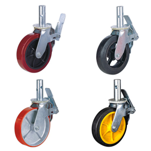 scaffolding tower casters wheels