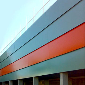 Fire resistant aluminum composite panel and sheet/fireproof ACP