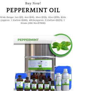 Shop Now! HBNO™ Organic Peppermint Oil