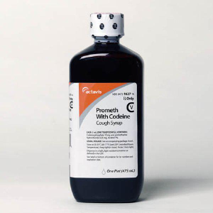 Actavis prometh with codeine cough syrup