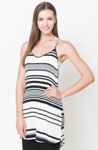 shop now for cut long striped tank tops