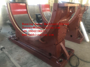 Rotary Kiln White Metal Sliding Globe Bearing-drawings customized