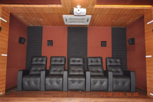 acoustics treatment home theater