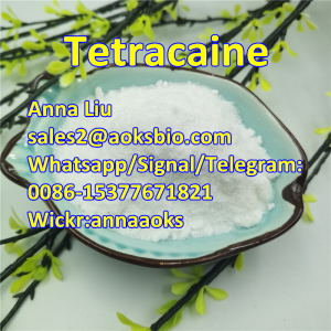 Tetracaine,Tetracaine,Tetracaine powder,94-24-6,cas94-24-6,Whatsapp/Signal:0086-15377671821