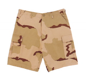 Tri-color Army Shorts   Vintage Army Shorts