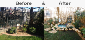 garden makeover los angeles california