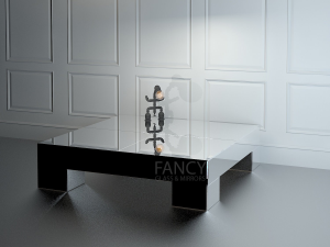 ALPHA MIRRORED COFFEE TABLE