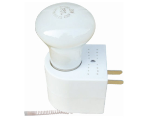 Wireless light control module, alarm systems