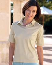 Silky Cotton Ladies Polo Shirt 2DP
