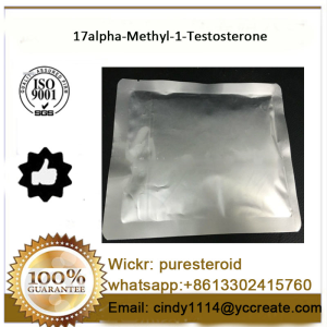 Raw Steroids Powder M1T 17alpha-Methyl-1-Testosterone for muscle gains