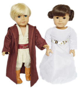 Star Wars Inpired Set For American Girl Dolls