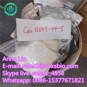 BMK glycidate powder/ Benzeneacetic acid with competitive price,cas 16648-44-5,sales2@aoksbio.com
