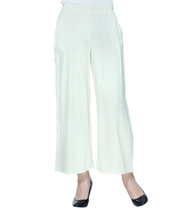 online shopping india - W Smart Casual WHITE PANTS