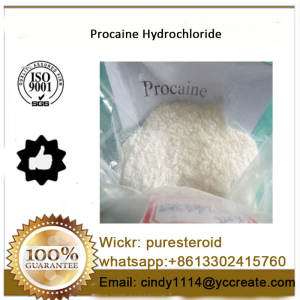 Local Anesthetic Inhibitor Procaine HCL Pain Reliver whatsapp+8613302415760