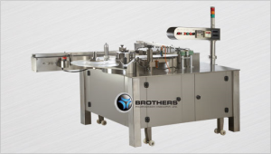 Rotary labeling machines