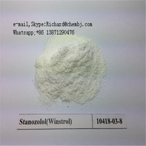 99% Purity Bodybuilding Stanozolol Winstrol with Good Price (CAS No.: 10418-03-8)