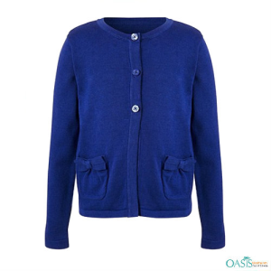 Electric Blue Sweater, Cardigans School Dress