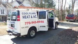 heating and air conditioning Powder springs