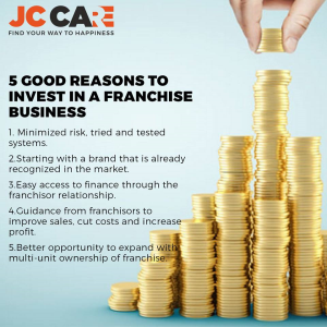 5 good reasons to invest in a franchise business