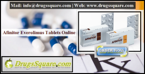 Afinitor 10 mg Everolimus Tablets Online