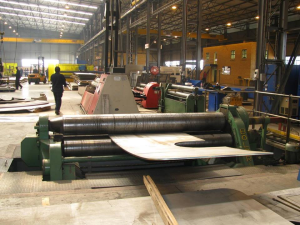 Stainless Steel Pipes Production