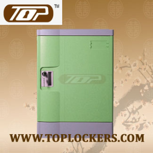 Four Tier ABS Plastic Beach Locker, Strong Lockset for Security
