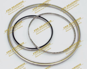 JU series double sealed thin section bearings