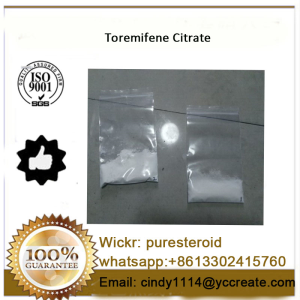 White Powder Fareston Anti Estrogen Toremifene Citrate whatsapp+8613302415760
