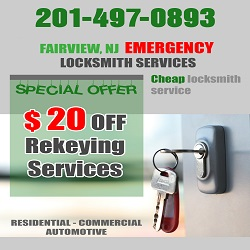 Locksmith Fairview NJ