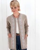 Louisa Fairisle Cardigan 2QB