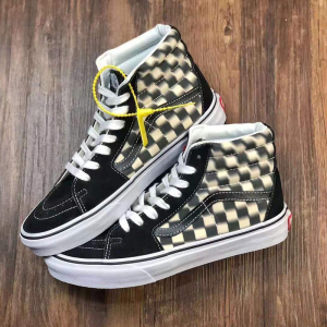 vans camouflage shoes