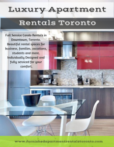 Luxury Apartment Rentals Toronto