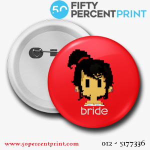 50percentprint|Button badge services in Malaysia|P