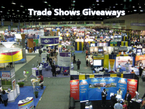 Trade Shows Giveaways