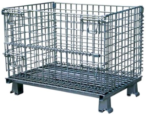 High quality euro stackable pallet storage containers