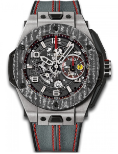 Hublot Big Bang Ferrari Titanium Carbon Mens