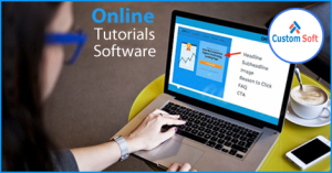 Online Tutorial Software by CustomSoft