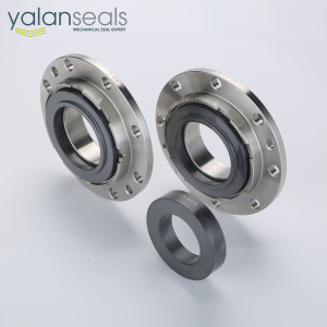 YALAN 07J-07D Double Mechanical Seal for Roots Blowers, High Speed Pumps and Gearboxes