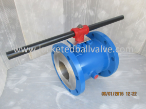 Steam Jacketed Ball Valve