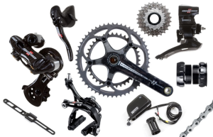Campagnolo Super Record EPS Titanium 53/39 Road Groupset