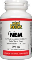 Restore the Health of Your Joints with Natural Factors NEM