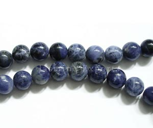 Faceted Sodalite Gemstone Beads